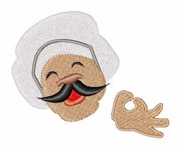 Chef Head embroidery design