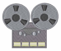 Tape Player embroidery design