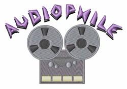 Audiophile embroidery design
