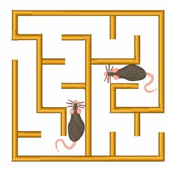 Maze Rats embroidery design