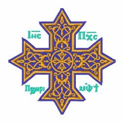 Coptic Cross embroidery design