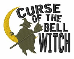 Curse Of Bell Witch embroidery design