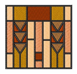 Prairie Windows embroidery design
