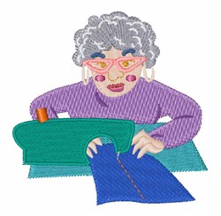 Sewing Grannie embroidery design