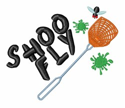 Shoo Fly embroidery design