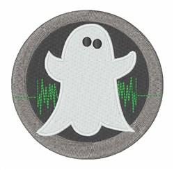 Ghost Hunter Logo embroidery design