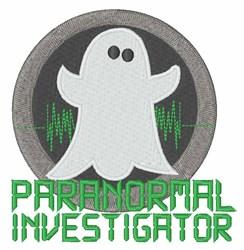 Paranormal Investigator embroidery design