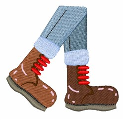 Hike Boots  embroidery design