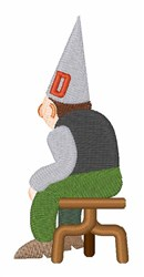 Dunce embroidery design