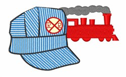 Engineers Hat embroidery design