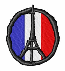 Peace For Paris embroidery design