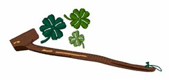 Shillelagh embroidery design