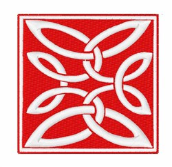 Anglo-Saxon Knot embroidery design