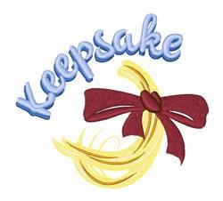 Keepsake embroidery design