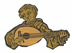 Troubadour embroidery design