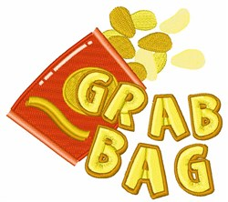 Grab Bag embroidery design