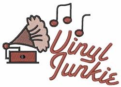 Vinyl Junkie embroidery design