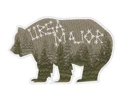 Ursa Major embroidery design