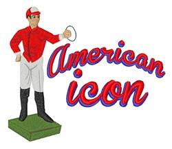 American Icon embroidery design