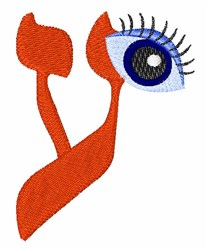 Hebrew Eye embroidery design