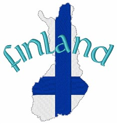 Finland embroidery design