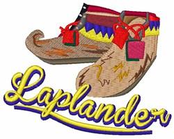 Laplander embroidery design