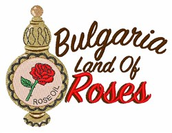 Land of Roses embroidery design