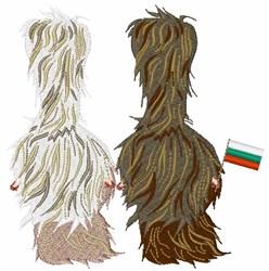 Bulgarian Yak embroidery design