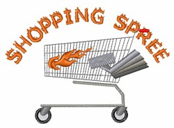 Shopping Spree embroidery design