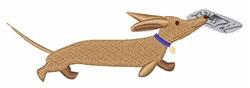 Dog Fetch embroidery design