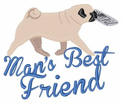 Mans Best Friend embroidery design