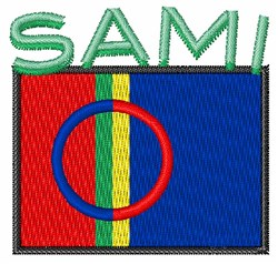 Sami embroidery design