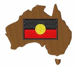 Aborginal Flag embroidery design