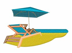 Cabana Chair embroidery design