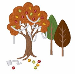 TP Tree embroidery design