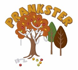 Prankster Tree embroidery design