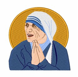 St. Teresa embroidery design