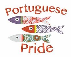 Portuguese Pride embroidery design