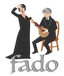 Fado embroidery design