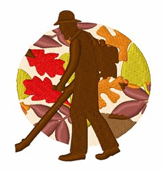 Leaf Blower embroidery design