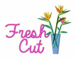 Fresh Cut embroidery design