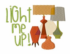 Light Me Up! embroidery design