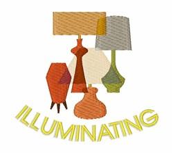 Illuminating embroidery design