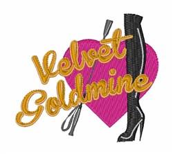 Velvet Goldmine embroidery design
