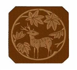 Deer Crest embroidery design