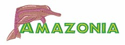 Amazonia embroidery design