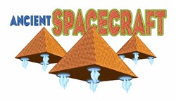 Ancient Spacecraft embroidery design