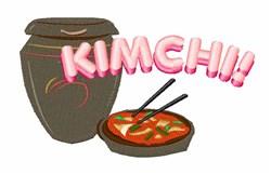 Kimchi embroidery design
