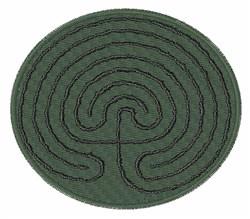 Meditation Labyrinth embroidery design