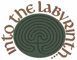 Into the Labyrinth embroidery design